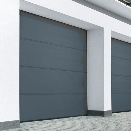 Brama garażowa segmentowa kolor Złoty Dąb