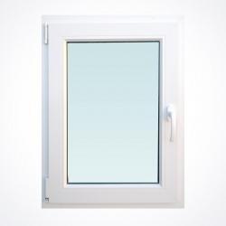 Okno 660 x Wysokość 870 mm  Biały